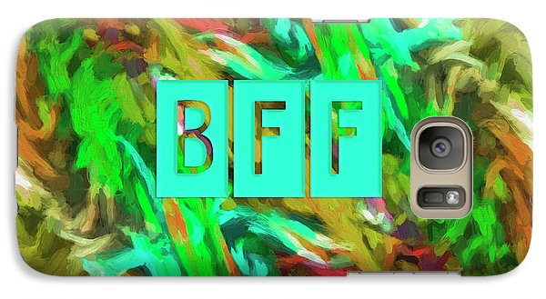 Galaxy Case featuring the photograph Best Friends Forever by Bonnie Bruno