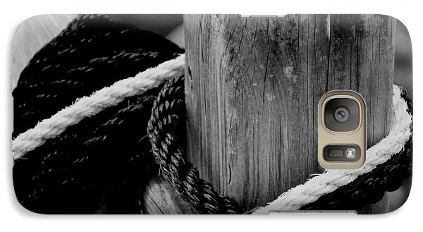 Galaxy Case featuring the photograph Black And White by Corinne Rhode