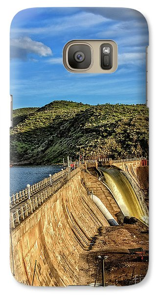 Galaxy Case featuring the photograph Black Canyon Dam by Robert Bales