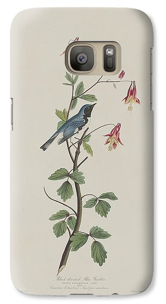 Black-throated Blue Warbler Galaxy S7 Case