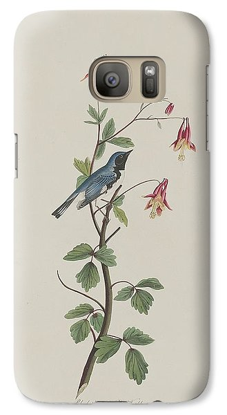 Black-throated Blue Warbler Galaxy S7 Case by Rob Dreyer