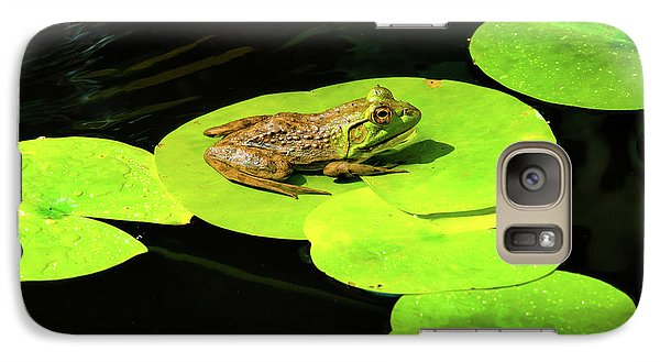 Galaxy Case featuring the photograph Blending In by Greg Fortier