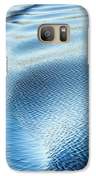 Galaxy Case featuring the photograph Blue On Blue by Karen Wiles