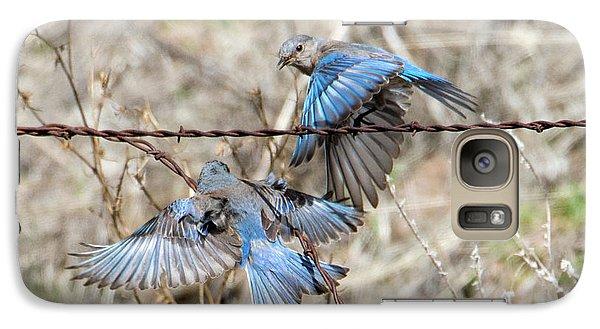 Bluebird Battle Galaxy S7 Case by Mike Dawson