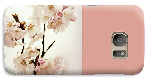 Galaxy Case featuring the photograph Blushing Blossom by Jessica Jenney