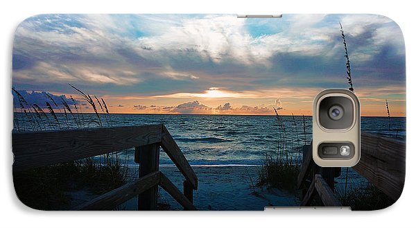 Galaxy Case featuring the photograph Boardwalk At Delnor-wiggins Pass State Park by Robb Stan