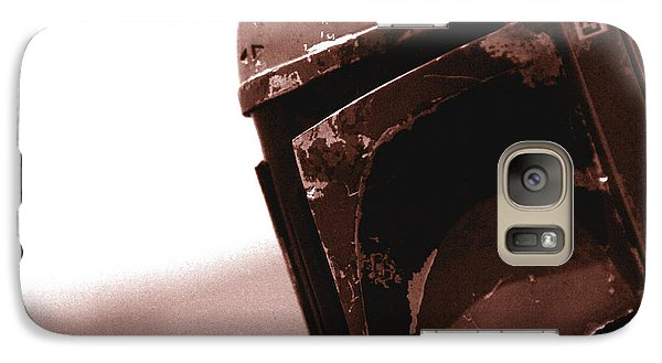 Galaxy Case featuring the photograph Boba Fett Helmet 32 by Micah May