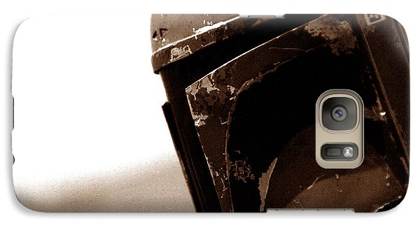 Galaxy Case featuring the photograph Boba Fett Helmet 33 by Micah May