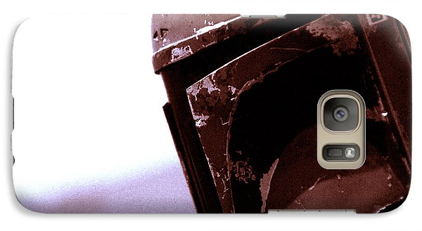 Galaxy Case featuring the photograph Boba Fett Helmet 34 by Micah May