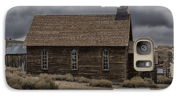 Galaxy Case featuring the photograph Stormy Day In Bodie State Historic Park by Sandra Bronstein