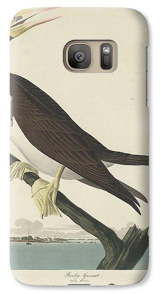 Booby Gannet Galaxy S7 Case by Rob Dreyer