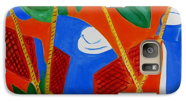 Galaxy Case featuring the painting Breakfast With Picasso by Patricia Cleasby