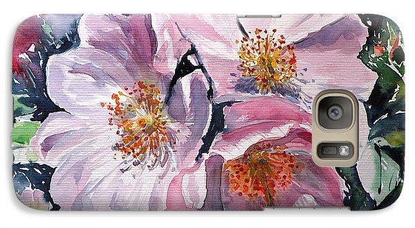 Galaxy Case featuring the painting Briar by Kovacs Anna Brigitta