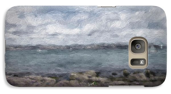 Galaxy Case featuring the photograph Brixham Harbour by Patricia Hofmeester