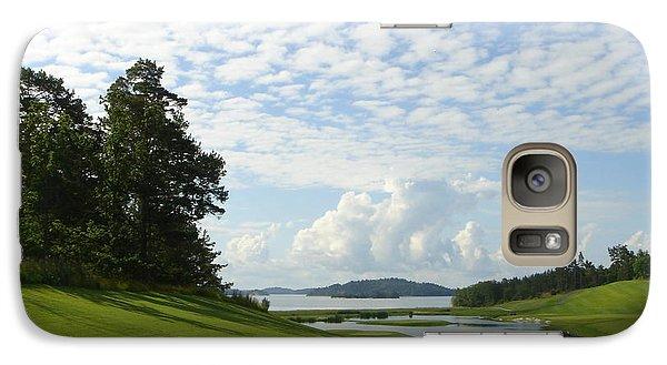 Galaxy Case featuring the photograph Bro Hof Slott Golf Club Sweden by Jan Daniels