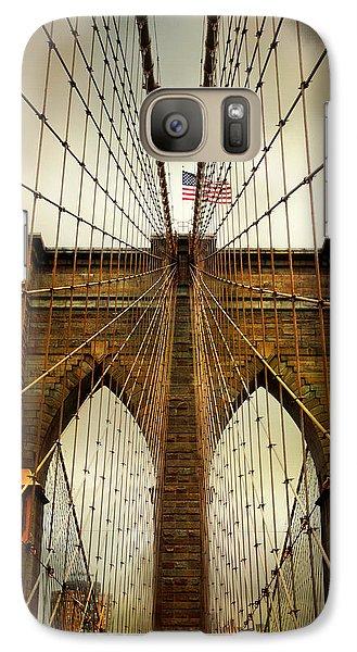 Brooklyn Bridge Twilight Galaxy S7 Case