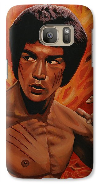 Bruce Lee Enter The Dragon Galaxy S7 Case