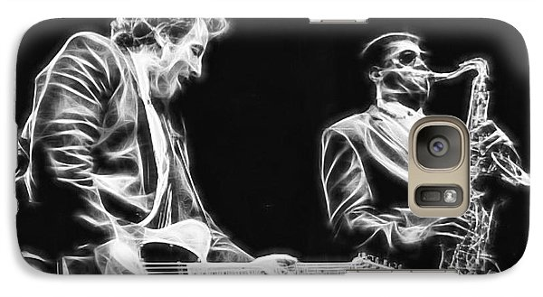 Bruce Springsteen Clarence Clemons Collection Galaxy Case by Marvin Blaine