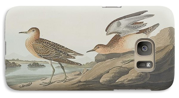 Buff-breasted Sandpiper Galaxy S7 Case by Rob Dreyer