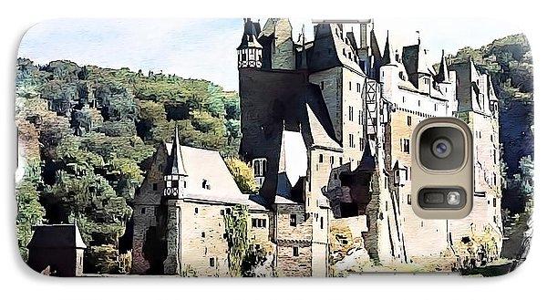 Galaxy Case featuring the photograph Burg Eltz - Moselle by Joseph Hendrix