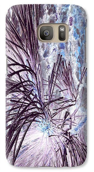 Galaxy Case featuring the photograph Burst by Jamie Lynn