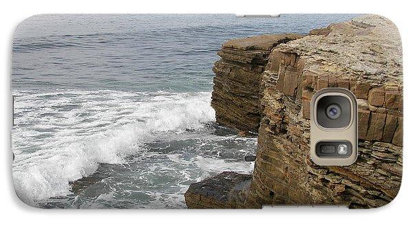 Galaxy Case featuring the photograph California Seascape by Carol  Bradley