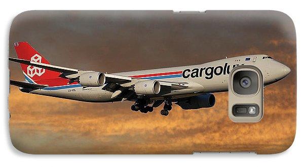 Jet Galaxy S7 Case - Cargolux Boeing 747-8r7 3 by Smart Aviation