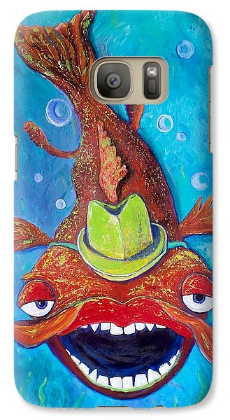 Catfish Clyde Galaxy S7 Case by Vickie Scarlett-Fisher