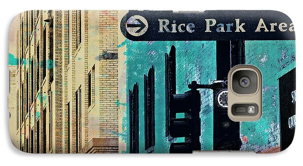 Galaxy Case featuring the photograph Central District by Susan Stone