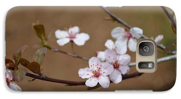 Galaxy Case featuring the photograph Cherry Blossoms by Linda Geiger