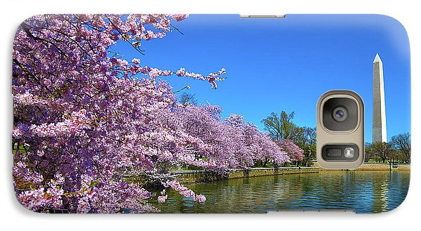 Galaxy Case featuring the photograph Cherry Blossoms by Mitch Cat