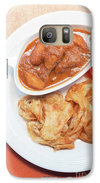 Galaxy Case featuring the photograph Chicken Massaman Curry by Atiketta Sangasaeng
