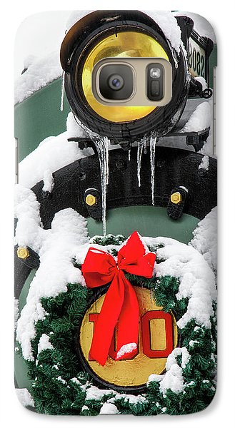 Christmas Train At Pacific Junction Galaxy S7 Case