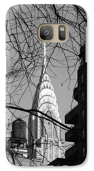 Chrysler Building And Tree Galaxy S7 Case