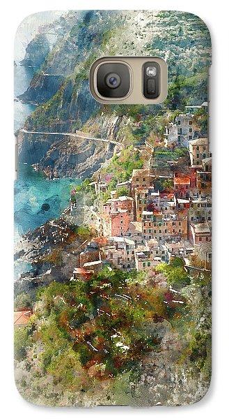 Cinque Terre In Italy Galaxy S7 Case