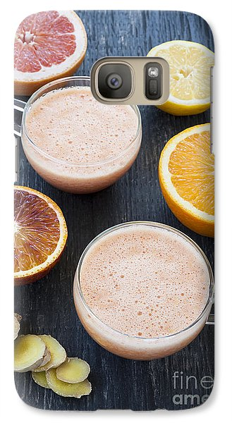 Citrus Smoothies Galaxy S7 Case