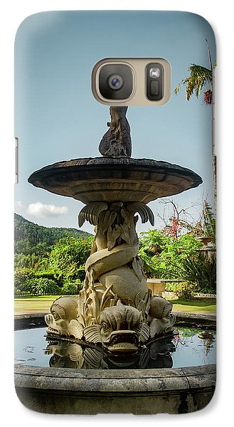 Galaxy Case featuring the photograph Classic Fountain by Carlos Caetano