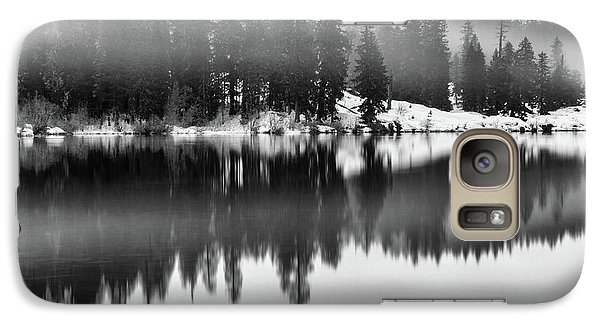 Galaxy Case featuring the photograph Clear Lake by Cat Connor