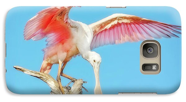 Spoonbill Cleared For Takeoff Galaxy S7 Case