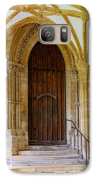 Galaxy Case featuring the photograph Cloisters, Wells Cathedral by Colin Rayner