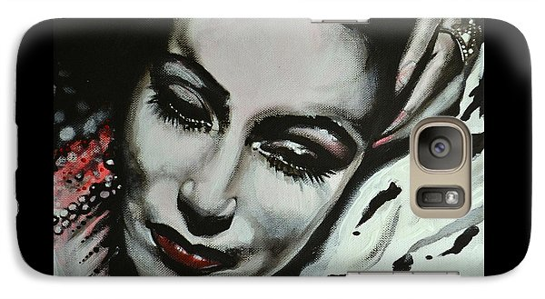 Galaxy Case featuring the painting Dolores by Sandro Ramani