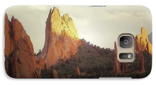 Galaxy Case featuring the photograph Colorado Garden Of The Gods Landscape by Andrea Hazel Ihlefeld