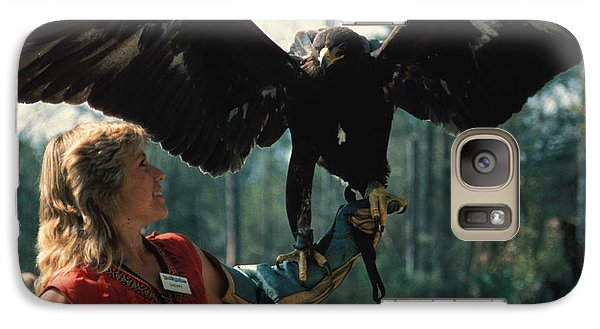 Galaxy Case featuring the photograph Come Fly With Me by Carl Purcell
