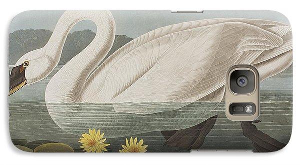 Common American Swan Galaxy S7 Case by John James Audubon