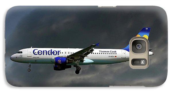 Condor Galaxy S7 Case - Condor Airbus A320-212 by Smart Aviation