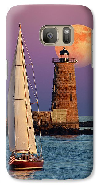 Galaxy Case featuring the photograph Convergence by Larry Landolfi