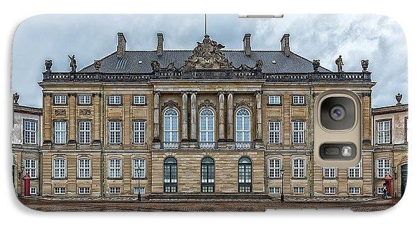 Galaxy Case featuring the photograph Copenhagen Amalienborg Palace by Antony McAulay