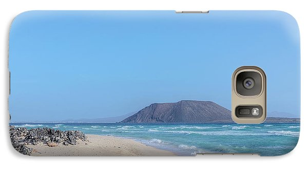 Corralejo - Fuerteventura Galaxy S7 Case by Joana Kruse