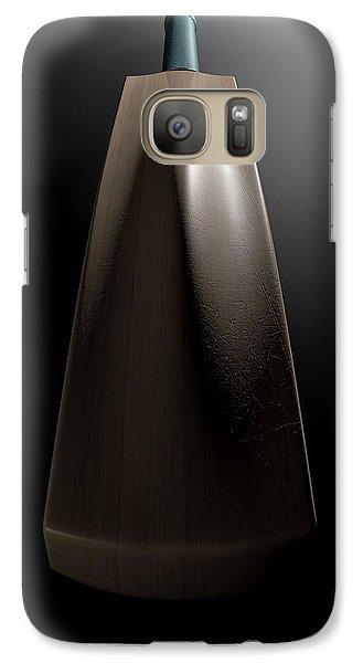 Cricket Bat Dark Galaxy S7 Case