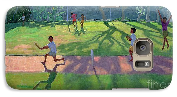 Cricket Sri Lanka Galaxy Case by Andrew Macara